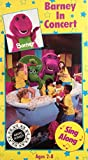 Barney In Concert Sing Along VHS