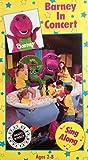 Barney In Concert Sing Along VHS