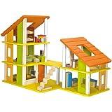 PlanDollhouse Chalet Dollhouse with Furniture