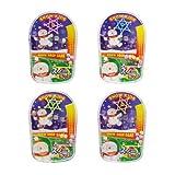【クリスマス景品】スノーキッズ スノードロップゲーム(25個)   / お楽しみグッズ(紙風船)付きセット [おもちゃ&ホビー]