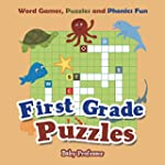 First Grade Puzzles: Word Games, Puzz...