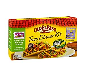 Amazon.com : Old El Paso Taco Dinner Kit 8.8 oz : Taco Shells