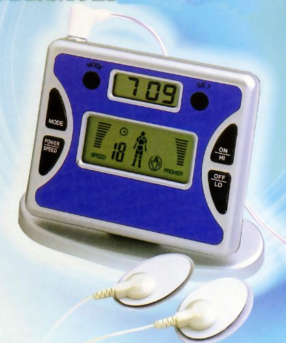 Digital Mini Tens Machine T.E.N.S Pain Relief Control Unit - 496