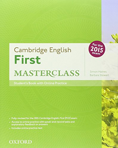First masterclass. Student's book-Workbook-2 test online. Without key. Con espansione online. Per le Scuole superiori. Con CD-ROM