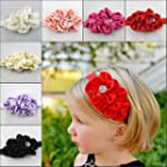 Qs 6 Pieces Babys Headbands Girl's Be...