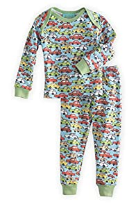 BedHead Baby Vintage Cars Made in USA PJs