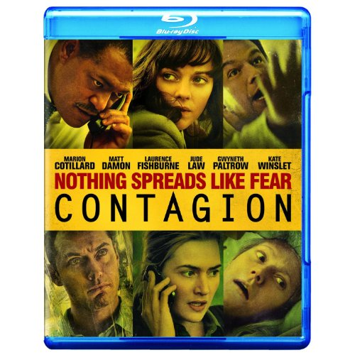 Cover art for  Contagion [Blu-ray]