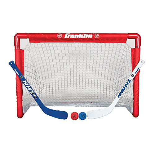 Franklin NHL Street Hockey Goal, Stick and Ball Set (Plastic Ice Hockey compare prices)
