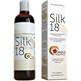 Silk18 Natural Conditioner By Maple Holistics - Sulfate Free Treatment for Dry and Damaged Hair - 18 Silk Amino Acids, Argan, Jojoba, and Botanical Keratin - All Hair Types - Men, Women and Teens - Safe for Color Treated Hair - 100% Money-Back Guaranteed By Maple Holistics, 8 Oz, 236 ml