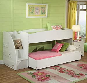 Amazon.com - Standard Furniture Reagan 2 Piece Kids' Loft Bedroom ...