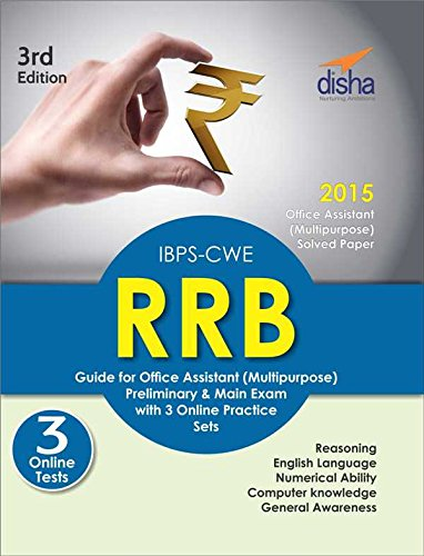 IBPS-CWE RRB Guide for Office Assistant (Multipurpose) Preliminary & Mains Exam with 3 Online Practice Sets