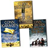 Conn Iggulden 4 Books Collection Set (Empire of Silver, Bones of the Hills: Genghis Khan 3,Wolf of the Plains (Conqueror 1) , Lords of the Bow (Conqueror 2)) Conn Iggulden