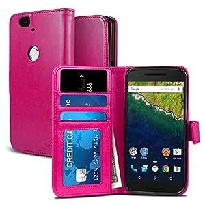 Amazon.com: Nexus 6P Case, NuNu Modish Nexus 6P Wallet Case [Premium