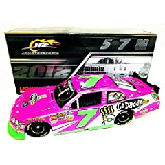 Buy *AUTOGRAPHED2012 Danica Patrick #7 PINK GoDaddy.com (Nationwide Series) 1 24 Lionel NASCAR Diecast by Trackside Autographs