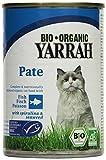 YARRAH Bio Katzenfutter Pate mit Fisch 400 g