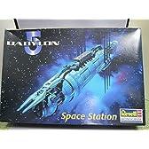 絶版品 モノグラム レベル バビロン5 スペースステーション(プラモデル)
