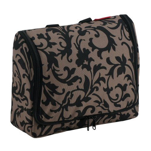 reisenthel wo7027 trousse de toilette toiletbag xl baroque taupe 28 x 25 x 10 cm opinion. Black Bedroom Furniture Sets. Home Design Ideas