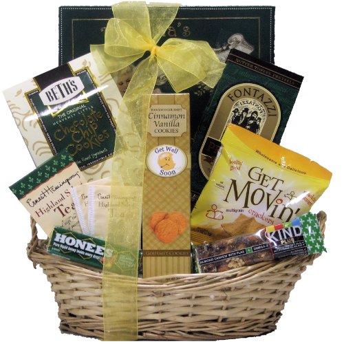 GreatArrivals Gift Baskets Get Well Gift Basket,