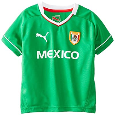 Puma - Kids Boys 2-7 Puma Mexico Tee, Fern Green, 5