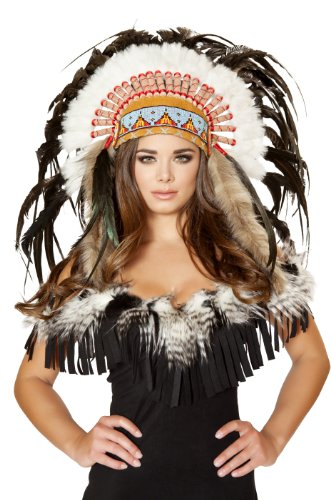 Roma Costume Women's Native American Headdress