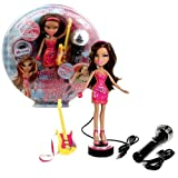 MGA Entertainment Bratz Neon Pop Divaz Series 10 Inch Doll Playset - Yasmin With Guitar And Micropho