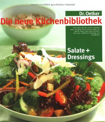 Salate und moderne Dressings