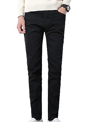 Wxian Men's Slim Fit Skinny Denim Jeans
