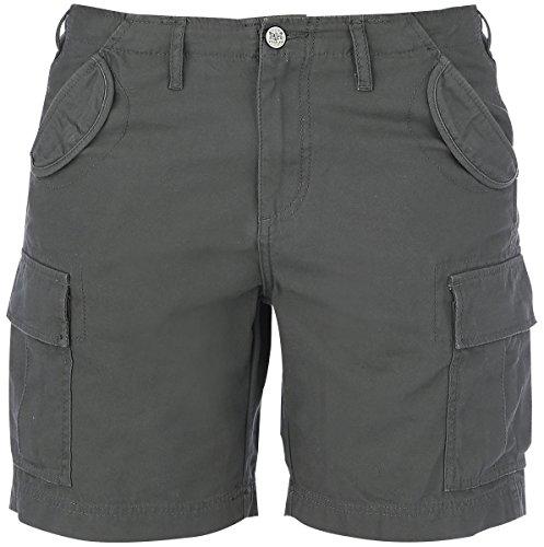 Black Premium by EMP Cargo Shorts Pantaloncini donna verde oliva 31