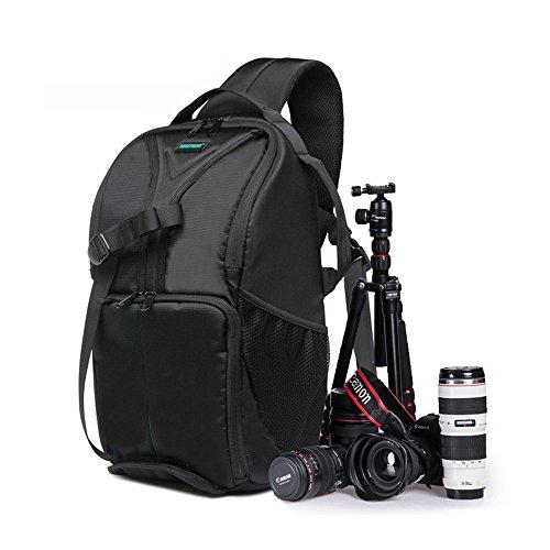 5-All-Kameratasche-fr-Spiegelreflexkameras-Wasserdicht-Gro-Schwarz