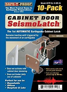 Seismolatch Automatic Earthquake Activated Cabinet Latch