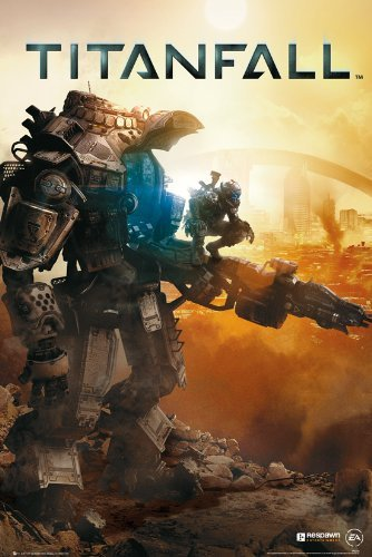 GB eye - Maxi poster Titanfall, multicolore