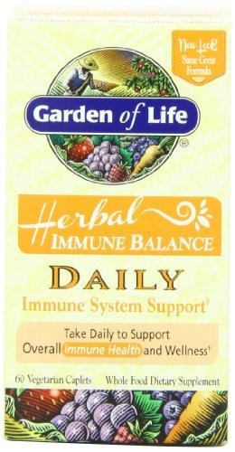 Garden of Life Immune Balance, Daily, 60 Vegetarian Caplets