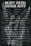 Guitar Riffs - Heavy Metal Poster, 61x92