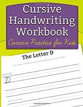 Cursive Handwriting Workbook Cursive Practice for Kids