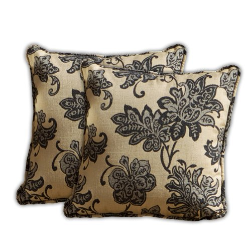Delano Jacquard Square Pillow (2Pk) By Rst Outdoor