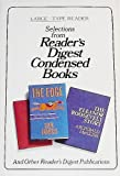 Readers Digest Condensed Books (The Edge / The Outstation / The Eleanor Roosevelt Story) (Large Type Reader)