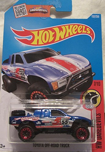 Toyota Off-Road Truck Hot Wheels 2016 HW Daredevils 1:64 Scale Collectible Die Cast Metal Toy Car Model #7/10 on International Long Card (Toyota Trucks For Sale compare prices)