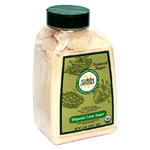 Florida Crystals Natural Sugar, Milled Cane, 48-Ounce Jug (Pack of 2)