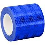 TapeCase Converted from 3M Engineer Grade Prismatic Reflective Sheeting 3435 Blue