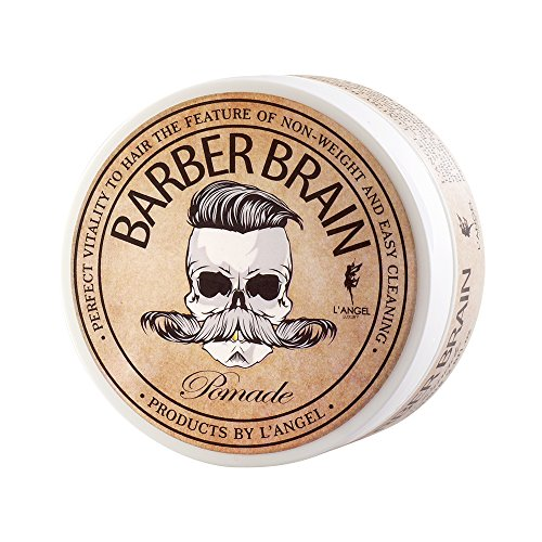 Barber Brain Men Pomade 2.6 Oz/80 g. Water Soluable Wax Ship with tracking number (Got2be Wax compare prices)