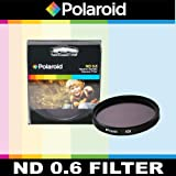 Polaroid Optics ND 0.6 Neutral Density Filter For The Olympus Evolt E-30, E-300, E-330, E-410, E-420, E-450, E-500, E-510, E-520, E-600, E-620, E-1, E-3, E-5 Digital SLR Cameras Which HaveThis (18-180mm) Olympus Lens