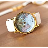 Geneva PU Leather watches for women bracelet dress watch