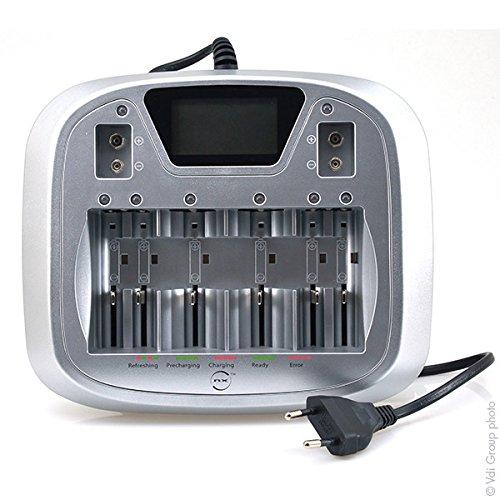 NX - Chargeur piles rapide pour 4AA ou AAA ou 4C ou 4D ou 9V - Unité(s)