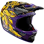Troy Lee Designs TLD D3 D-3 Helmet Bicycle / BMX - Medusa Purple Carbon Fiber Size Adult XLarge (XL) *LIMITED EDITION* / 0401-1111