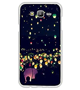 Printvisa Night Lamps In Sky 2D Hard Polycarbonate Designer Back Case Cover For Samsung Galaxy On5 (2015) :: Samsung On 5