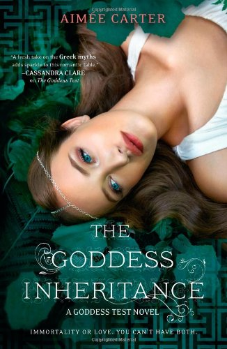 Cover of The Goddess Inheritance (A Goddess Test Novel)