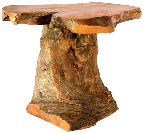 Image of Bighorn Root End Table (B001KCWA32)