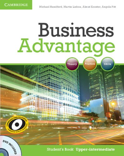 Business Advantage Upper-intermediate Student's Book with DVD (Business Advantage compare prices)
