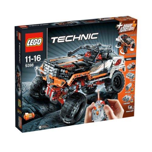 LEGO Technic 9398 - 4X4 Offroader  - Ab ins Gelände!