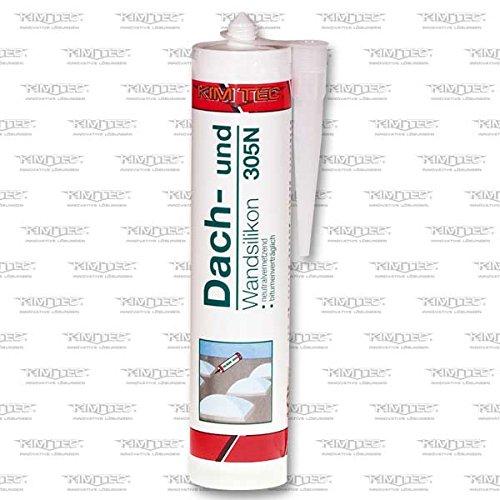 kim-tec-dach-und-wandsilikon-305n-unverschnittener-gebrauchsfertiger-einkomponenten-dichtstoff-310ml